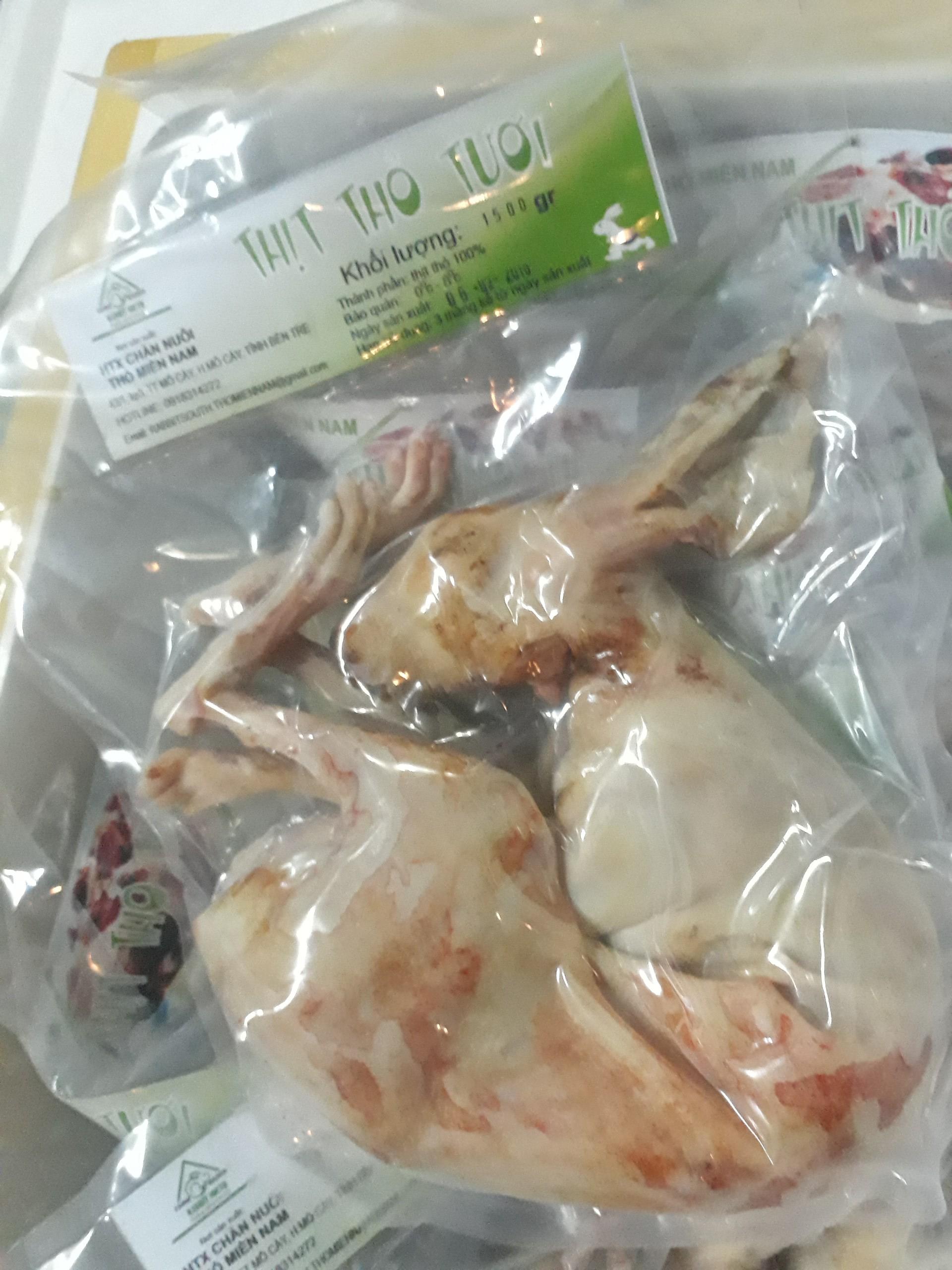 Thịt thỏ tươi bán ở đâu tại sài gòn